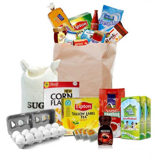 Breakfast Essentials Grocery Pack