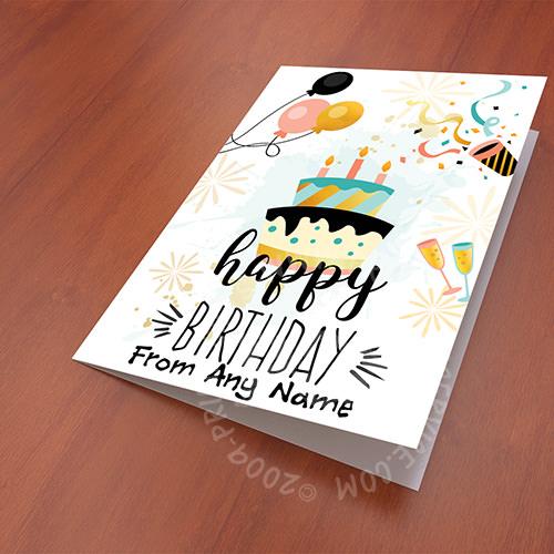 Customized Birthday Card Gift Pakistan